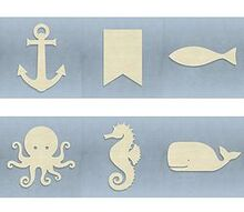 q nautical items, crafts, home decor
