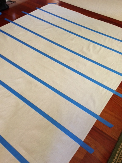 A painted floor cloth hometalk for How to paint a floor cloth