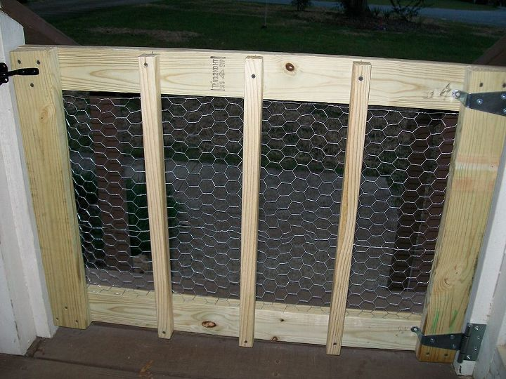 Back of gate