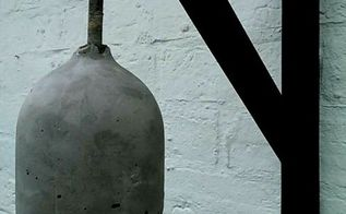 concrete and gold diy lampshade, diy, lighting, make a designer look concrete and gold lampshade