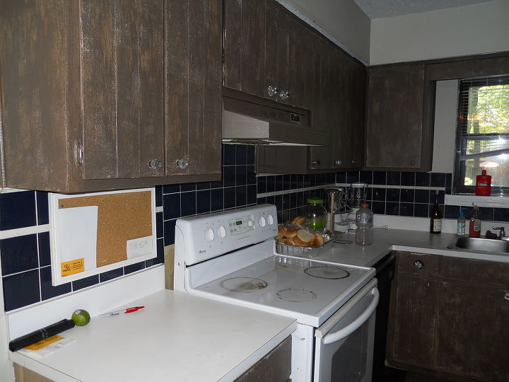 kitchen remodel is finished my son lance had help from his fiance and our entire, home decor, kitchen backsplash, kitchen design, Before