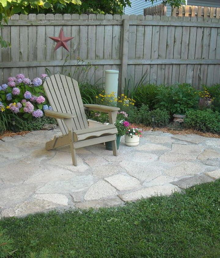 my secret garden, concrete masonry, outdoor living