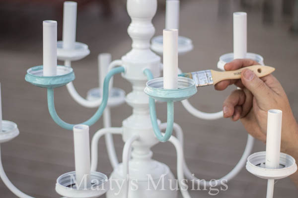 Mason jar chandelier hometalk mason jar chandelier chalk paint diy home decor how to lighting aloadofball Image collections