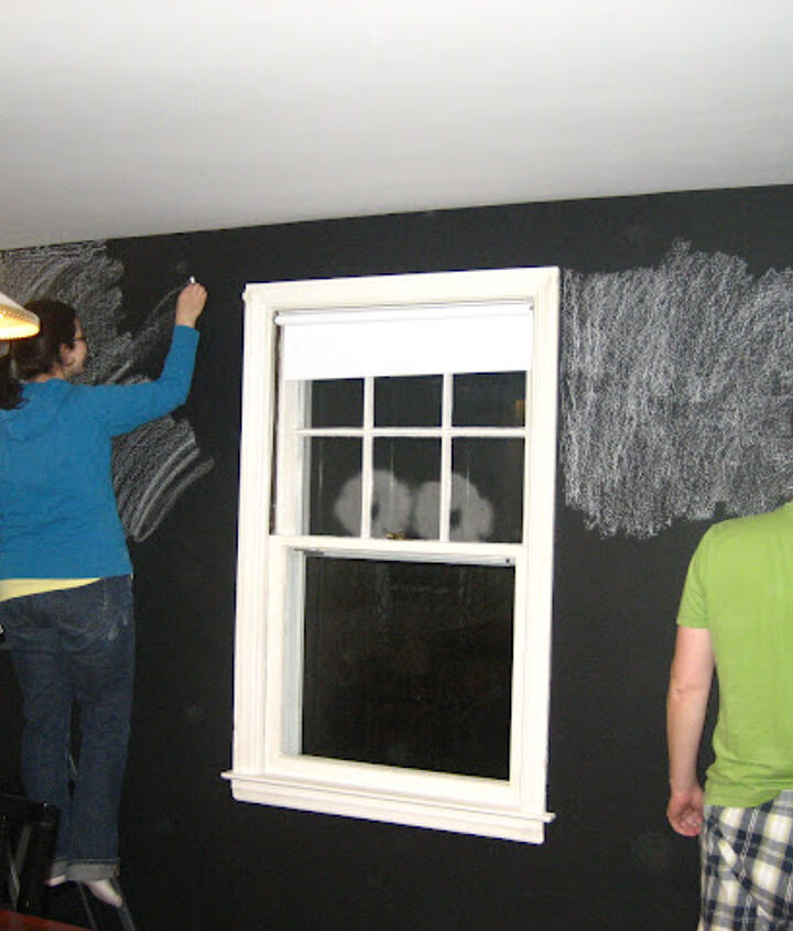 Conditioning the chalkboard