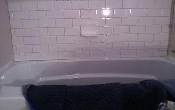 Subway tile is back, start new all bathrooms makeover at powder spring. Griffith's Residence.