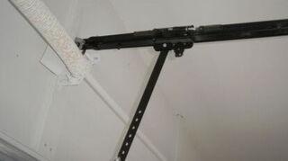 my craftsman garage door opener is missing the manual release, doors, garage doors, garages, garage door attachment Thank you