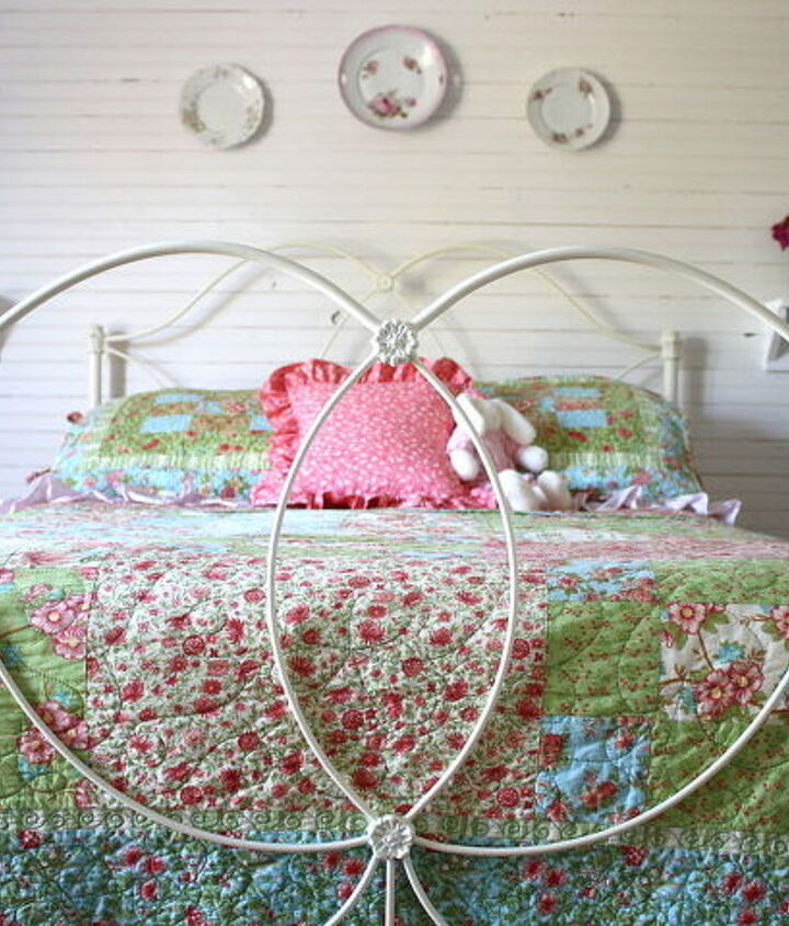 a girl s farmhouse bedroom, bedroom ideas, home decor