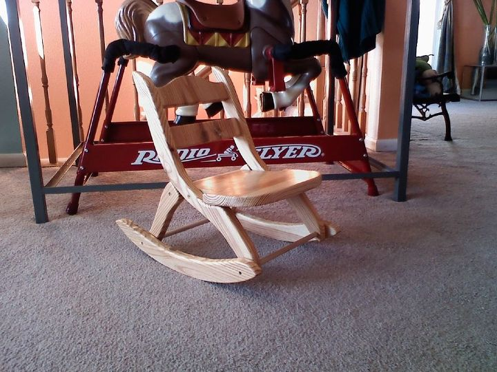 folding rocking chair for kids