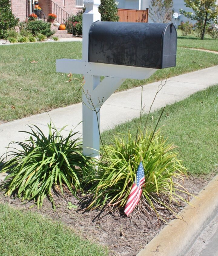 Old mailbox needing a makeover