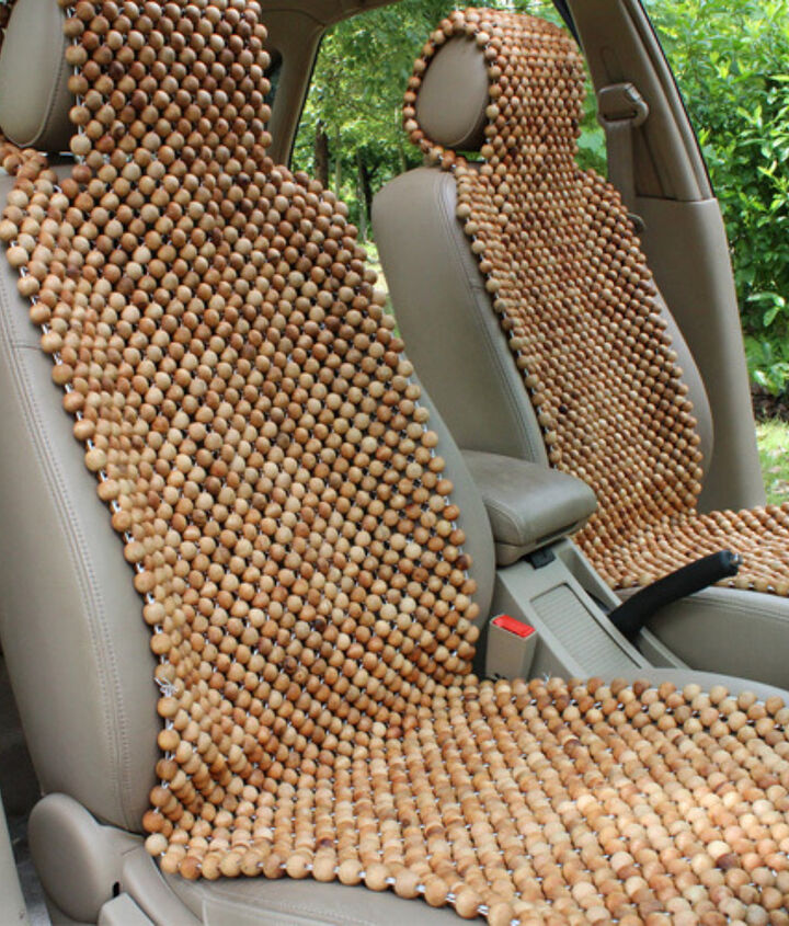 these beads came from a seat like this  http://www.myclevernest.com/2013/03/car-seat-into-lamp-extreme-recycling.html#