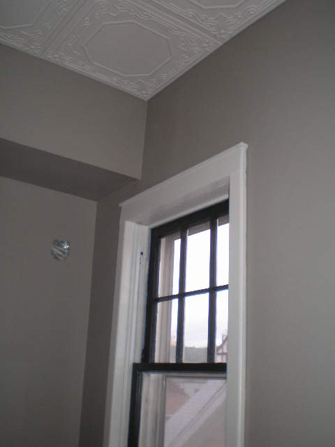 walls painted, window restored and painted