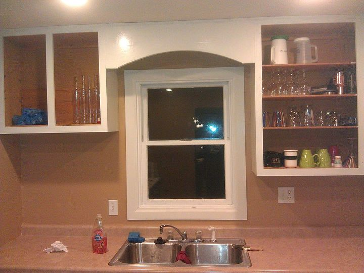 from green to a dream our kitchen cabinets get painted, doors, kitchen cabinets, kitchen design, painting, woodworking projects