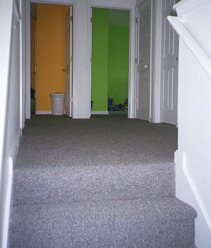 BEFORE- it was carpet