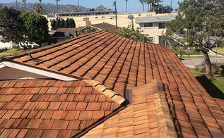 classic cedar shake roof installation in redondo beach california, roofing, woodworking projects