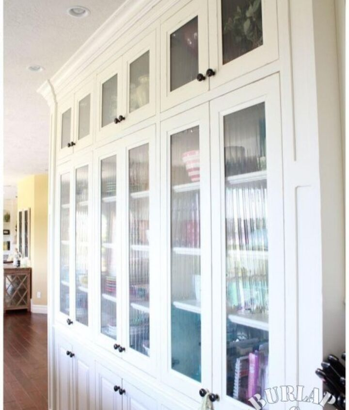 Fabulous Built In Hutch Cabinets
