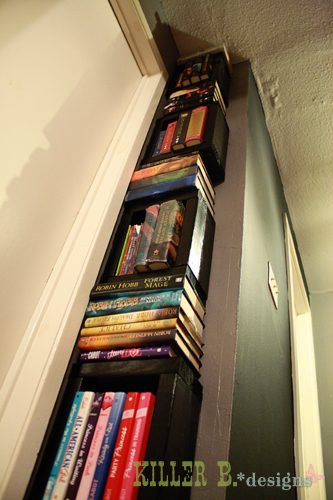 10 book tower, shelving ideas, storage ideas