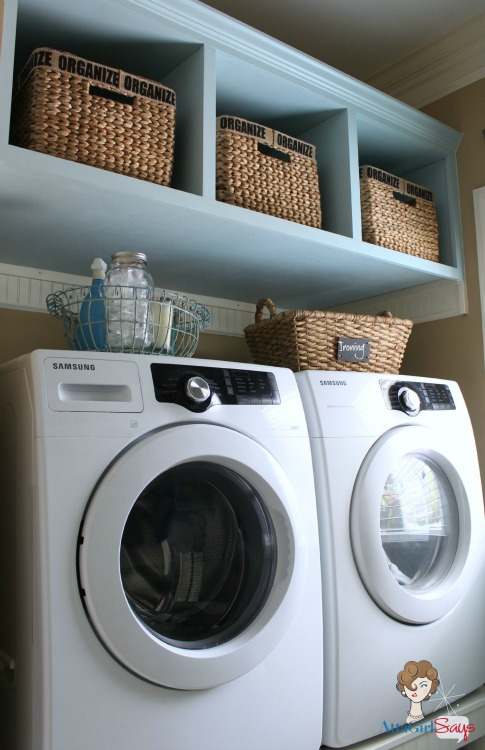 Amy from Atta Girl Says turned her dreaded laundry room into a happy place! http://hmt.lk/13RNUIZ