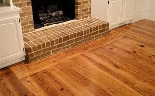 installing antique pine heart flooring farmhousestyle, flooring, living room ideas