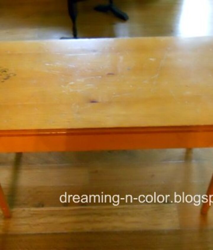 Love this old piano bench but wanted to make it a statement piece.