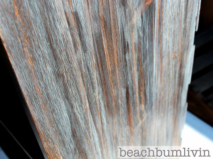 layering different colors of stain for a cool look, painted furniture, shelving ideas, woodworking projects, Layering Stain