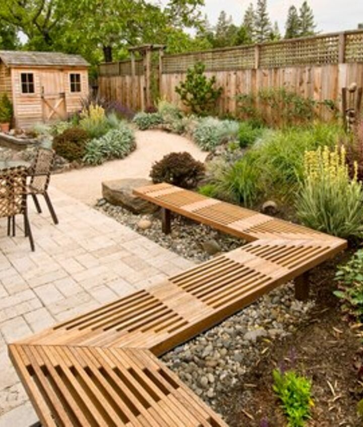 Beautiful garden space, all organic