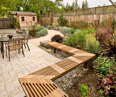 Beautiful garden space, all organic