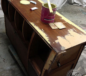 Repairing Damaged Or Missing Veneer, Painted Furniture, Woodworking Projects