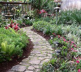 Marvelous Concrete Garden Path