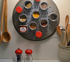 Small Kitchen Ideas Diy Magnetic Spice Rack, Cleaning Tips, Kitchen Design,  DIY Pizza