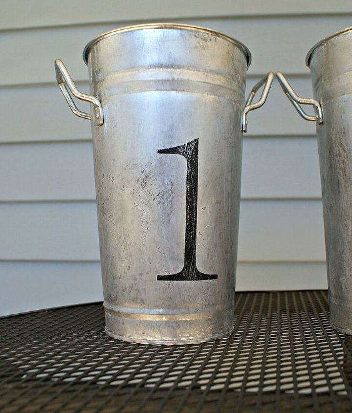 aging galvanized metal, crafts, repurposing upcycling