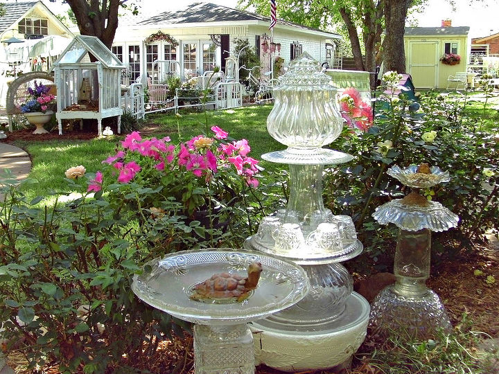 touring our backyard, gardening, outdoor living