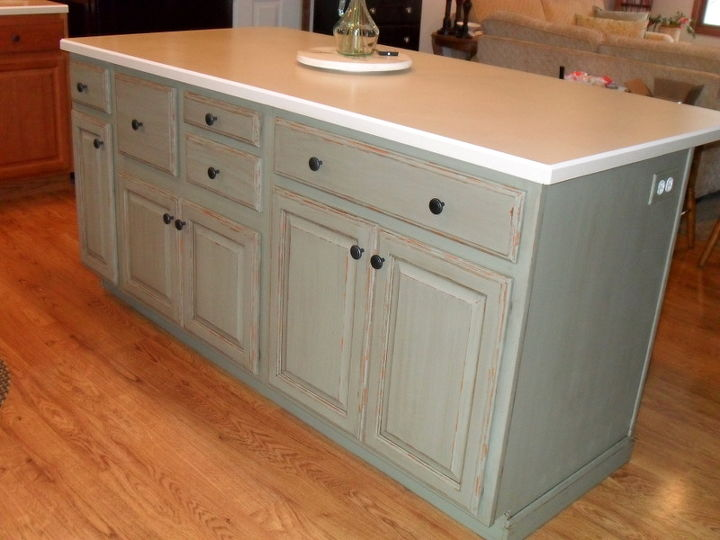 painted kitchen islandsPainting My Kitchen Island with Annie Sloan Chalk Paint  Hometalk