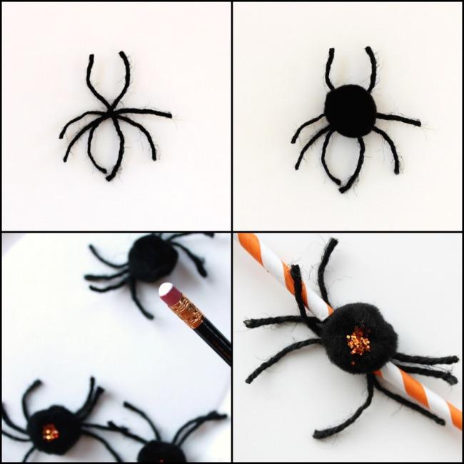 Halloween Spider Garland | Hometalk