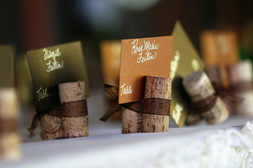 diy project of the week 22 crafty cork creations after enjoying a glass of wine, crafts, wreaths, Cork Place Cards