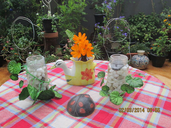 garden decor, gardening, home decor, outdoor living, repurposing upcycling