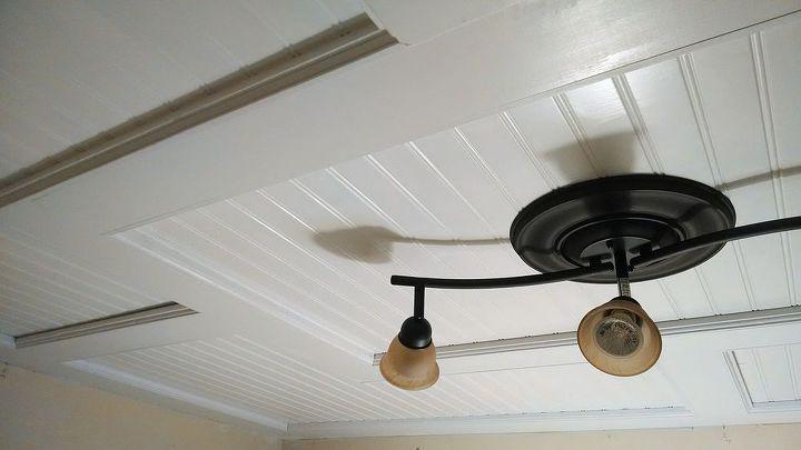 Beadboard drop ceiling hometalk beadboard drop ceiling diy woodworking projects mozeypictures Gallery