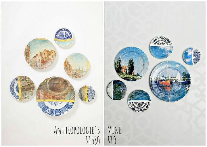 Anthro's on the left, mine on the right!  http://www.madincrafts.com/2013/04/anthropologie-inspired-collage-art.html