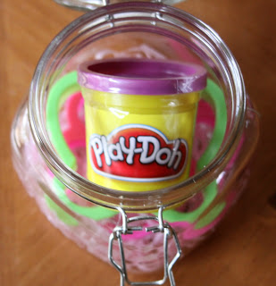 play doh easter gift, crafts