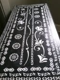 stenciled painted furniture, painted furniture