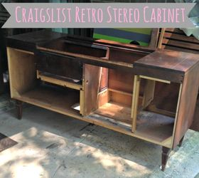 Gentil Retro Stereo Cabinet Transformation, Kitchen Cabinets, Painted Furniture,  Repurposing Upcycling, Components Stripped