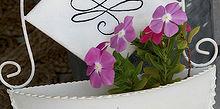 brighten your front door with blooms in a hanging pocket planter, container gardening, doors, gardening
