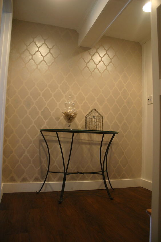 how to stencil a wall and live to tell about it, painting, wall decor