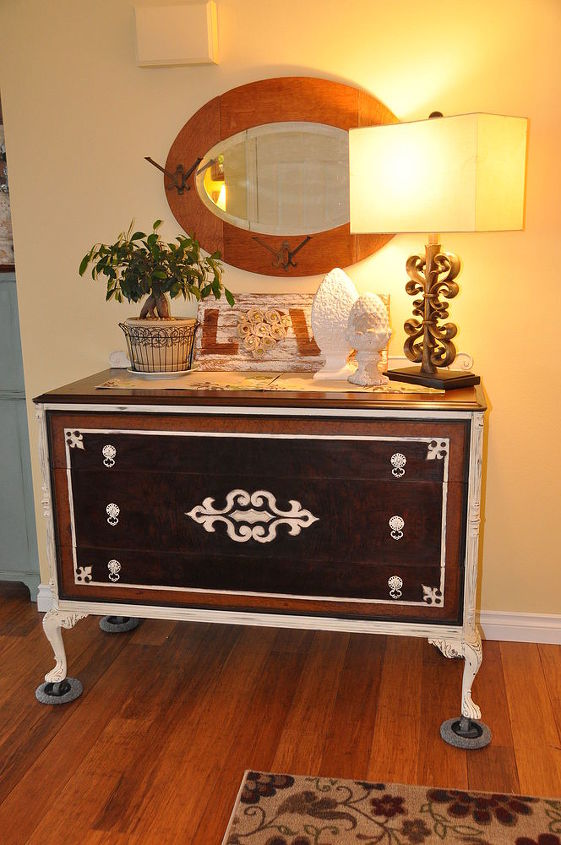 classy rustic dresser, home decor, painted furniture, rustic furniture
