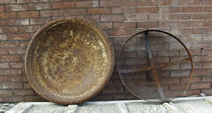 rust restoration, crafts, repurposing upcycling, Before