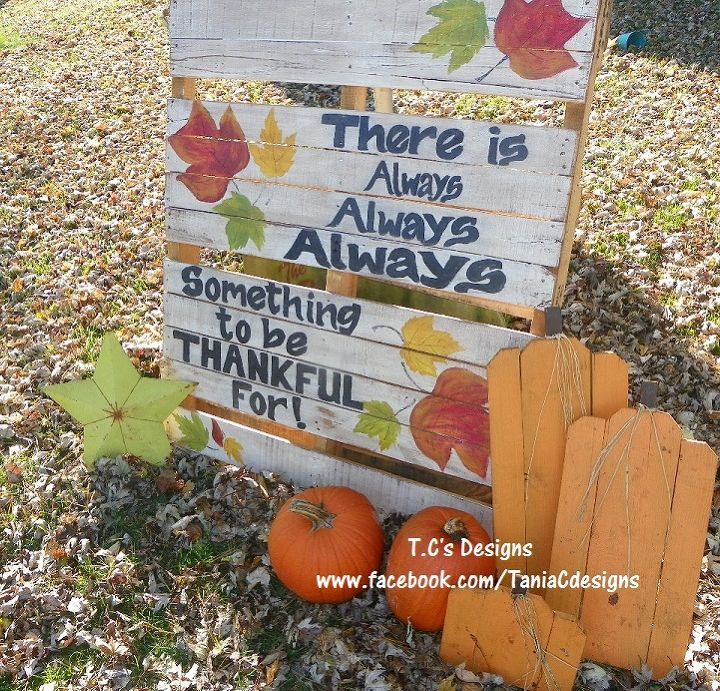 Easy To Make Pallet Yard Art Crafts Seasonal Holiday Decor After