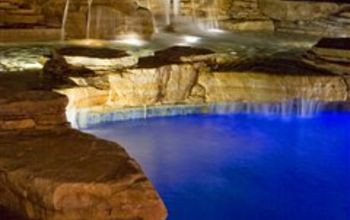 pool waterfalls in rumson nj, outdoor living, ponds water features, pool designs