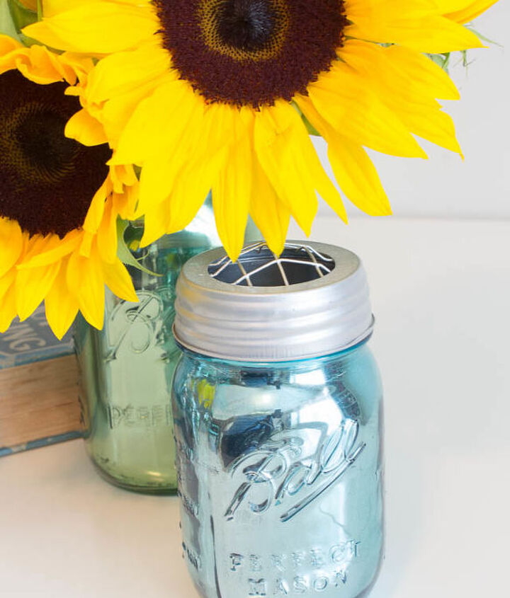 mirrored mercury glass mason jars, crafts, home decor, mason jars, repurposing upcycling