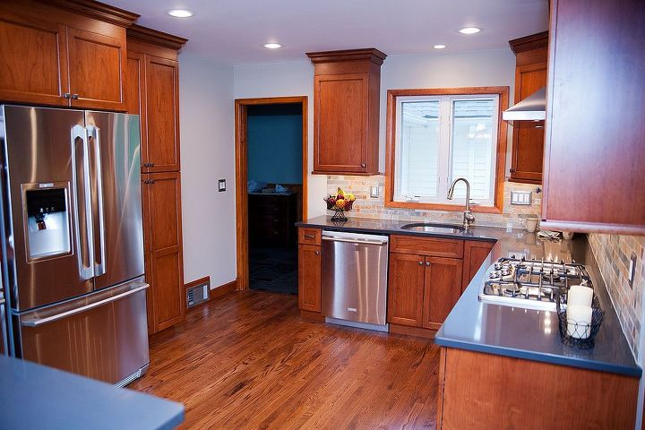 Wood Flooring In Kitchen Remodel By ProSkill Construction