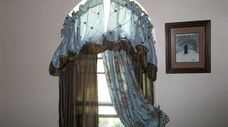 q ideas for small arched window treatment, window treatments, windows