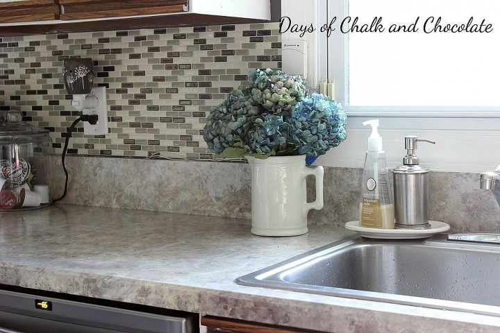 how to paint your counters, countertops, diy, how to, painting